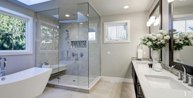 Most Beautiful Master Bathrooms: Trendem Je Koupelna Bez Kachlí. Vyjde Levněji A Odpadá
